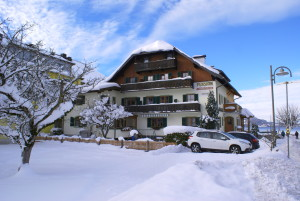 Pension Antonia im Winter