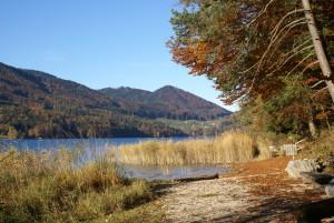 Fuschl am See im Herbst