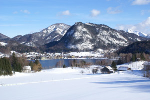 Fuschl am See Winter Ort
