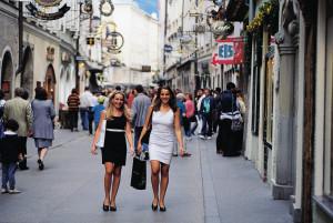 shoppen in Salzburg