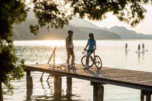 Rennradtour zum See