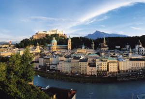 Blick auf die Festung und die Stadt